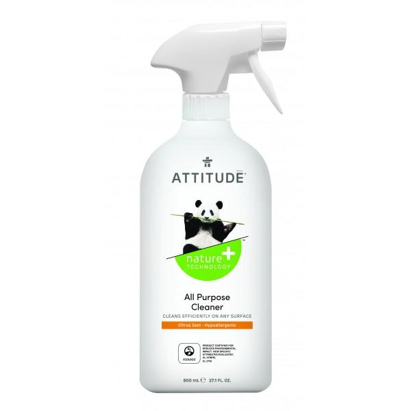 加拿大 ATTITUDE 艾特優_多功能清潔劑-柑橘味 800ml AM10180
