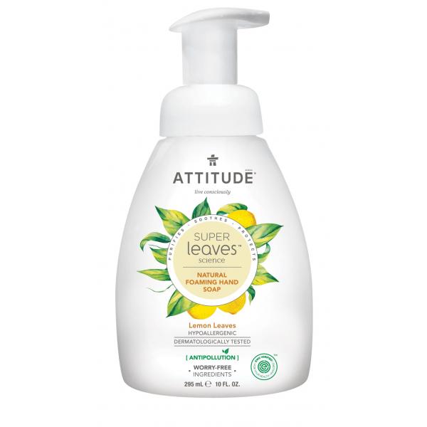 加拿大 ATTITUDE 艾特優_Super Leaves™泡沫洗手乳-檸檬葉 295ml AL14082