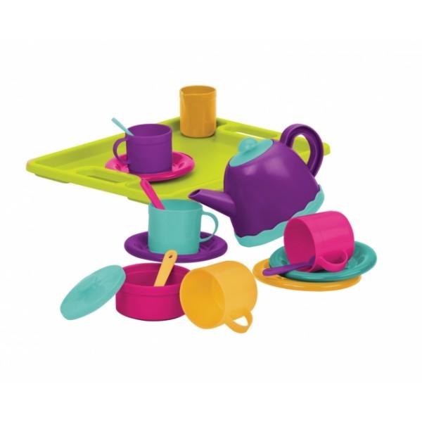 美國【B.Toys】感統玩具 字母手提箱