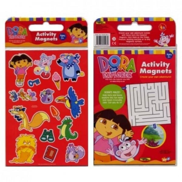小小探險家朵拉磁貼遊戲包-Dora The Explorer Activity Magnets--DORA