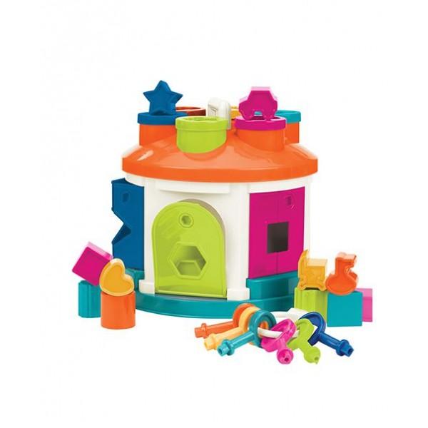 美國【B.Toys】感統玩具_小鎖匠煙囪屋 BT2580Z (缺貨中)