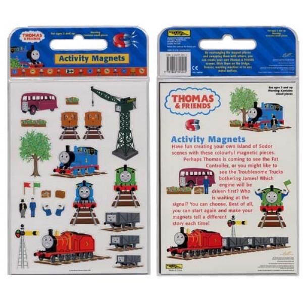湯瑪士小火車磁貼遊戲包-Thomas & Friends Activity Magnets 表面些微泛黃