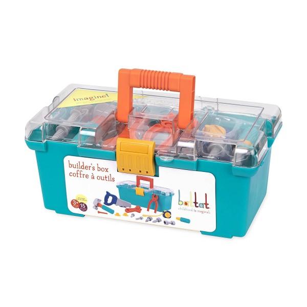 美國【B.Toys】感統玩具_小學徒工具箱 BT2536Z