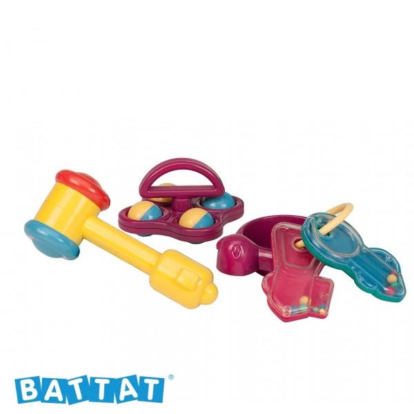 美國【B.Toys】感統玩具 初來玩(My First Plyset)  BT2413 (缺貨中)