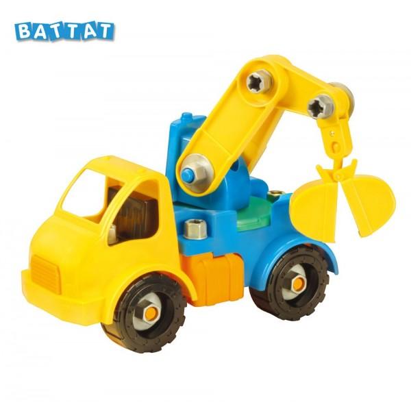美國【B.Toys】Battat系列_工程吊車 BT68026 (缺貨中)