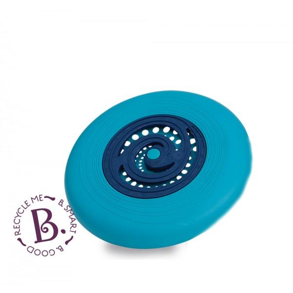 美國【B.Toys】感統玩具 飛盤迪斯可-藍 BX1354Z