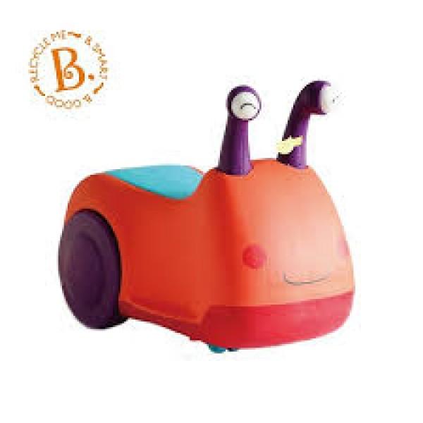 美國【B.Toys】感統玩具 蝸牛叭噗 BX1388Z (缺貨中)