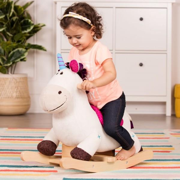 美國【B.Toys】感統玩具 搖搖馬神氣 BX1660Z