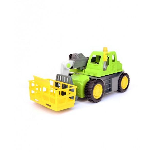美國【B.Toys】感統玩具_伸縮臂堆高機 WH1018Z