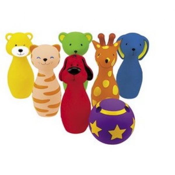 【 K's kids】動物造型保齡球組  Colorful Bowling Band SB001-67