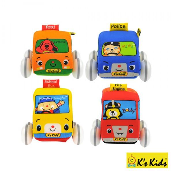 趣味迴力車組 K's Kids Pull-Back Autos SB002-01  缺貨中