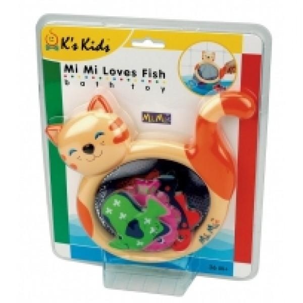 咪咪貓抓魚組 K's Kids Mimi Loves Fish SB002-06