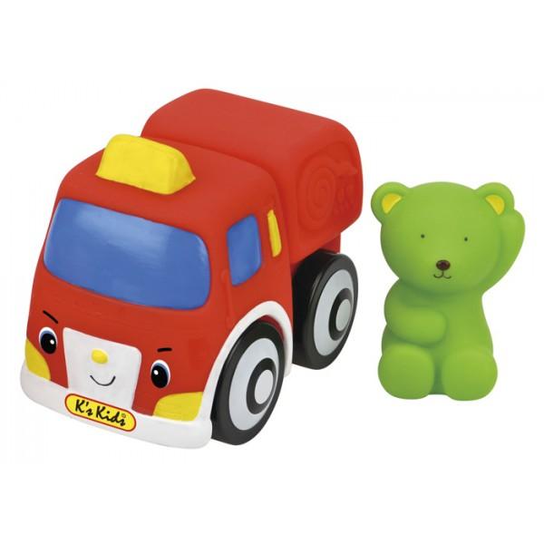 彩色安全積木︰ 山姆熊消防車 SB002-88  缺貨中