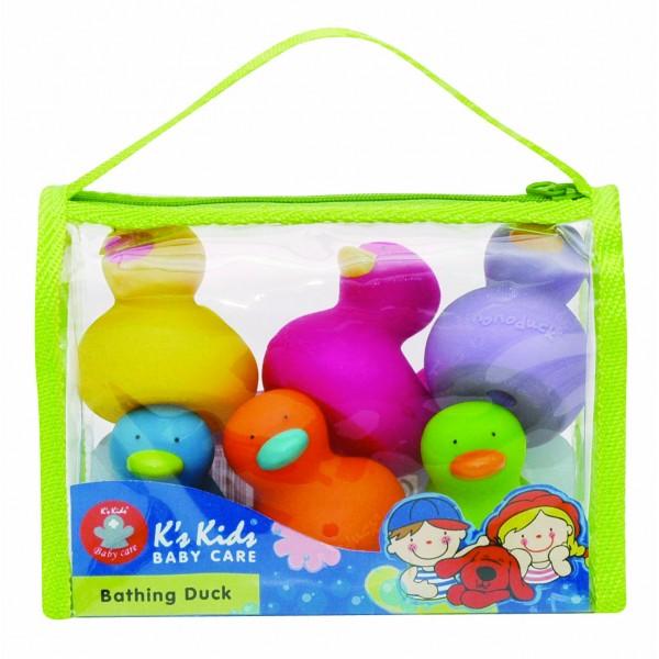 【 K's kids】洗澡小鴨鴨(6入組) Bathing Duck  SB004-30