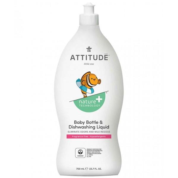 加拿大 ATTITUDE 艾特優_嬰幼兒餐具洗潔精  AM13179