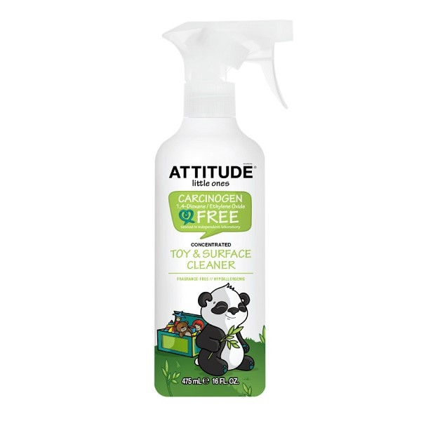 ATTITUDE 艾特優 玩具表面清潔劑  即期品出清 保存期限2020/5/25 **現買現用**