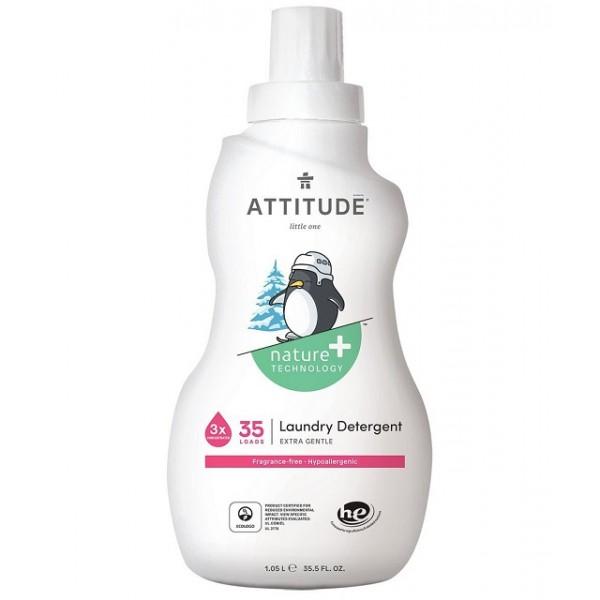 加拿大 ATTITUDE 艾特優_嬰幼兒洗衣精 (無香味)1.05L - AM12033