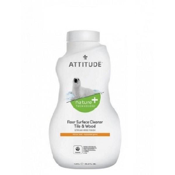 加拿大 ATTITUDE 艾特優_地板瓷磚和木材表面清潔劑-柑橘味 1.04L -AM10510