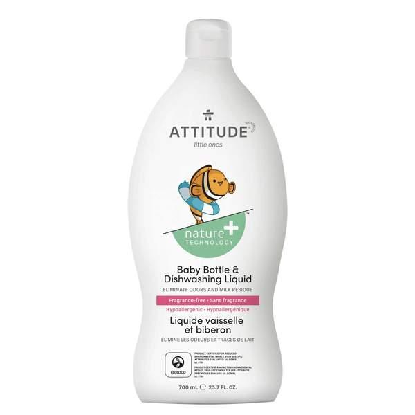 加拿大 ATTITUDE 艾特優_嬰幼兒奶瓶餐具洗潔精 700ML  AM13179