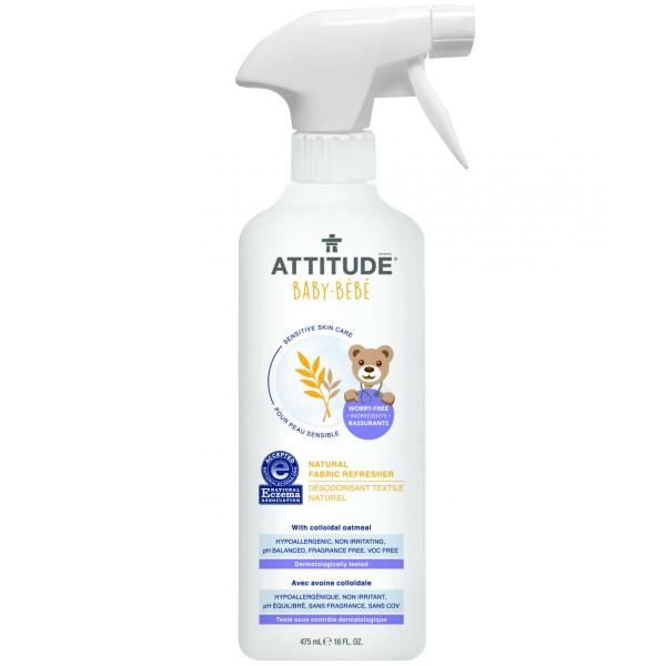 加拿大 ATTITUDE 艾特優_寶寶敏感肌膚衣物芳香噴霧  475ml A60269