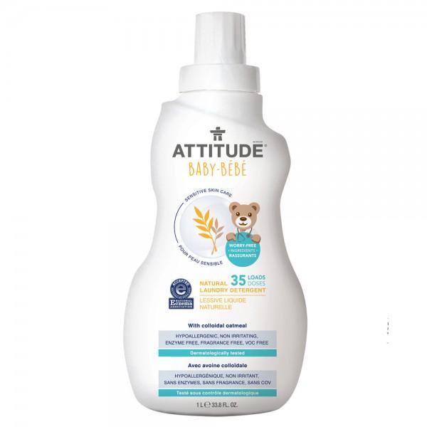 加拿大 ATTITUDE 艾特優_寶寶敏感肌膚洗衣精 A60203